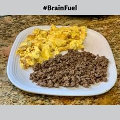 Brain Fuel Ketogenic Breakfast
