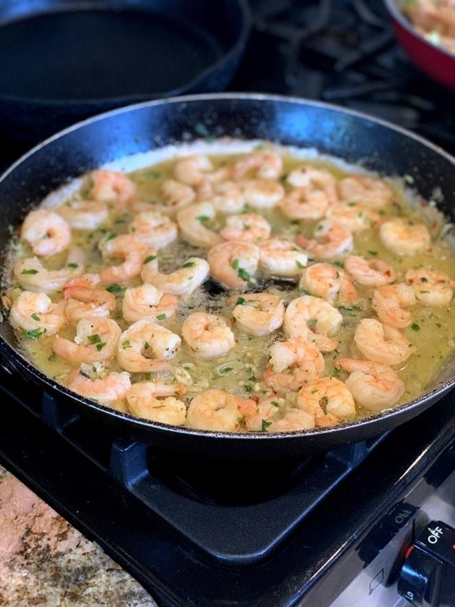 Shrimp Scampi Ketogenic Meal